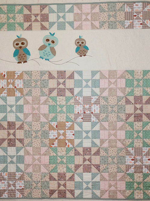 New Addition Crib Quilt