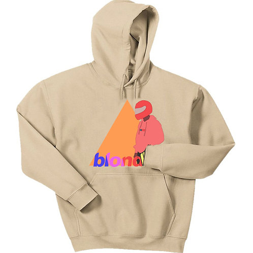 Pastel Blonde Graphic Hoodie - Premium Quality