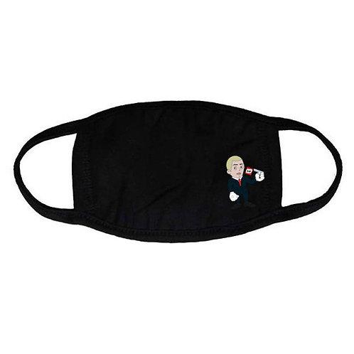 Cartoon Slim Shady Face Mask - Premium Quality