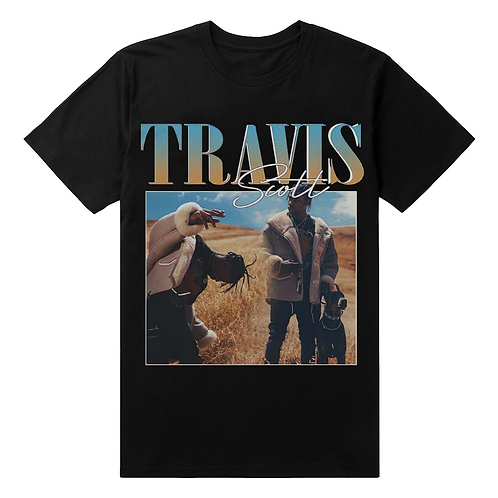 Travis Scott Vintage Style T-Shirt - Premium Quality