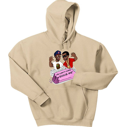 Cartoon Erase Me Hoodie - Premium Quality