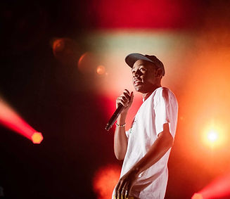 Tyler, the Creator performing live