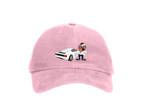 Cartoon Blonde Baseball Dad Cap - Premium Quality