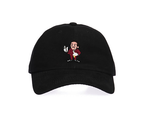 Cartoon Rockstar Baseball Dad Cap - Premium Quality