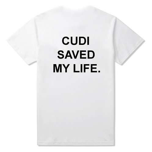 """Cudi Saved My Life"" Crew Neck T-Shirt"