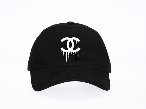 Dripping Logo Baseball Dad Cap - Premium Quality
