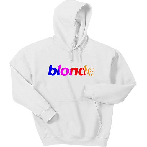 Blonde Logo Hoodie - Premium Quality