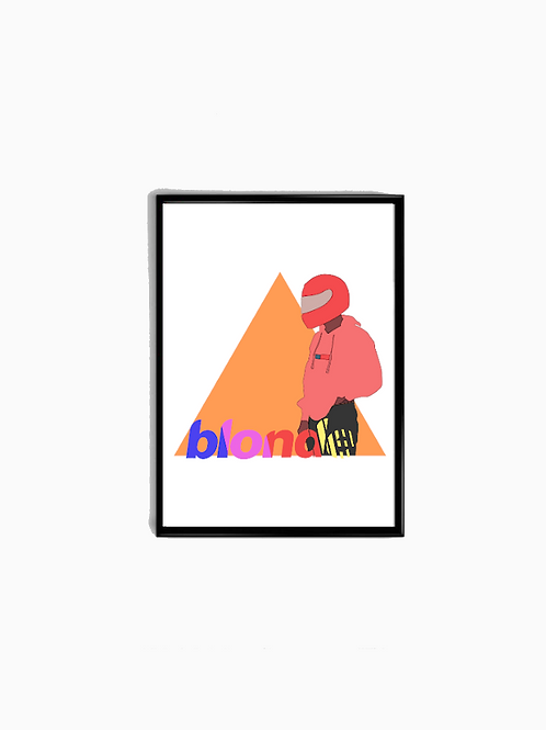 Pastel Blonde Poster - Premium Quality