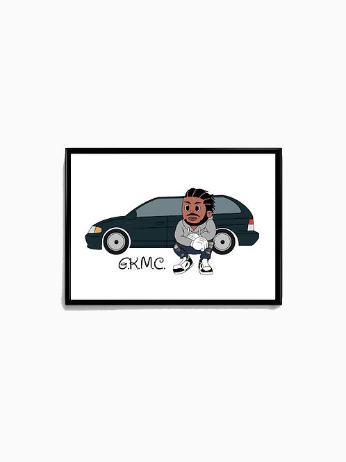 Cartoon GKMC Poster - Premium Quality