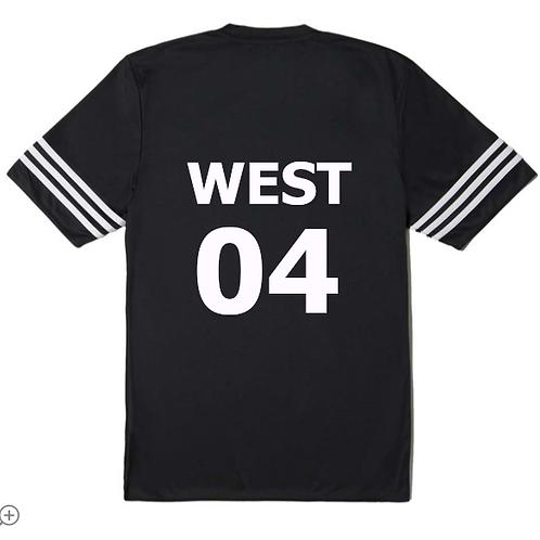 Adidas Custom Kanye West GOOD Music Football Jersey
