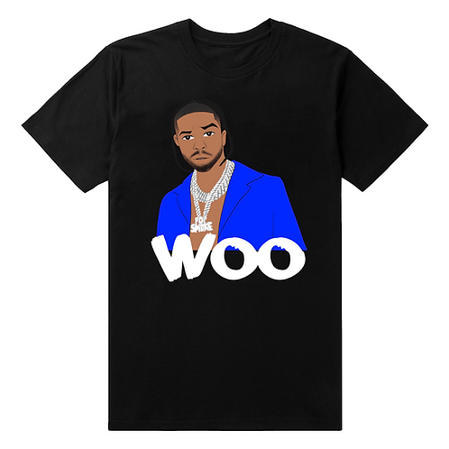 "Pop Smoke ""Woo"" T-Shirt - Premium Quality"