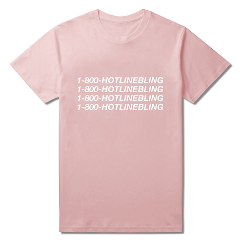 Hotline Bling T-Shirt - Premium Quality