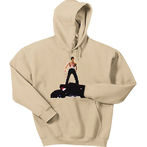 Painted Rodeo Figure Hoodie - Premium Quality