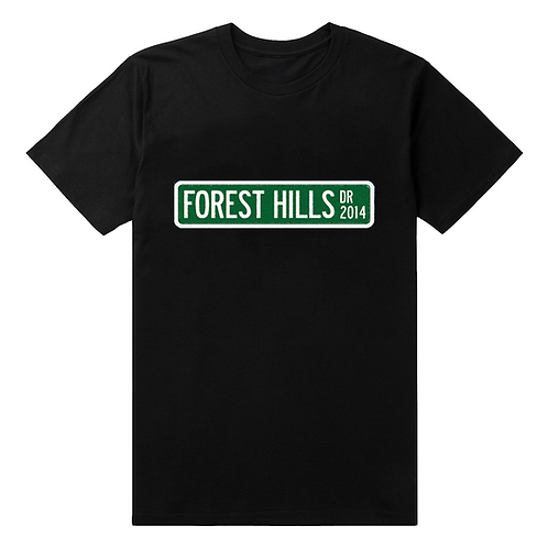 Forest Hills Drive Sign T-Shirt - Premium Quality