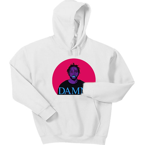 Neon DAMN Hoodie - Premium Quality