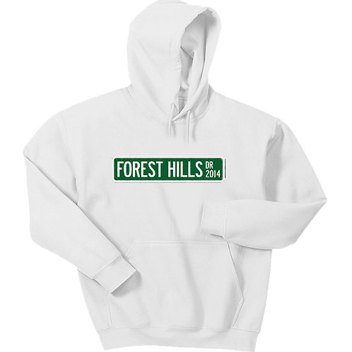 Forest Hills Drive Sign Hoodie - Premium Quality