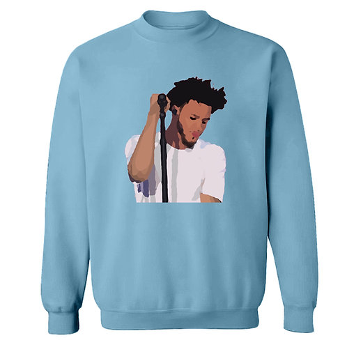 Painted J Cole Sweatshirt - Premium Quality