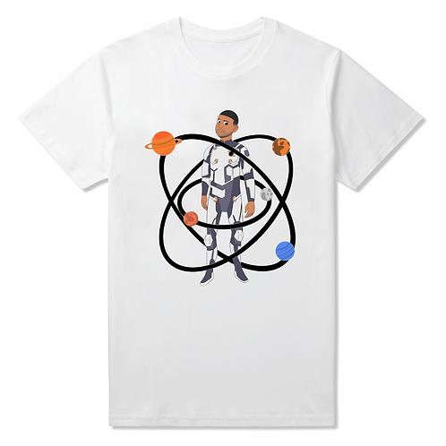 Cosmic Warrior T-Shirt - Premium Quality