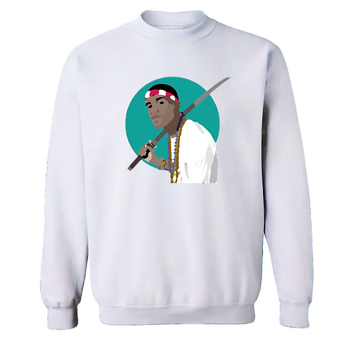 Painted Frank Samurai Sweatshirt - Premium Quality