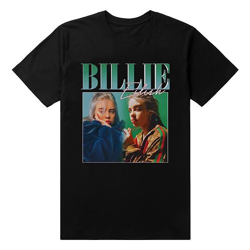 Billie Eilish Vintage Style T-Shirt - Premium Quality
