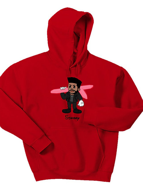 Cartoon Starboy Hoodie - Premium Quality
