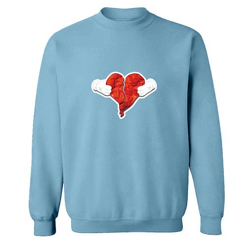 Painted 808s Logo Sweatshirt - Premium Quality