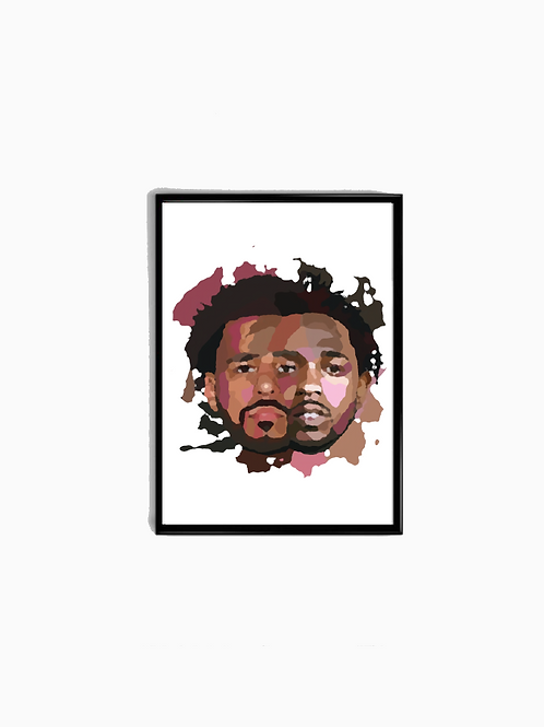 Painted Rap Icons Poster - Premium Quality