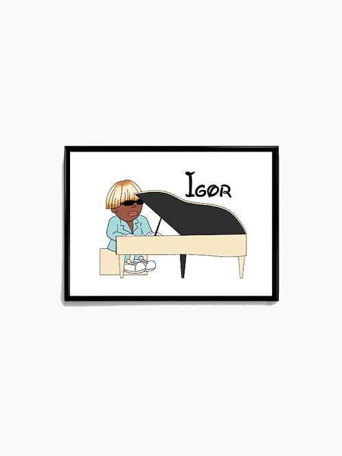 Cartoon Igor Poster - Premium Quality