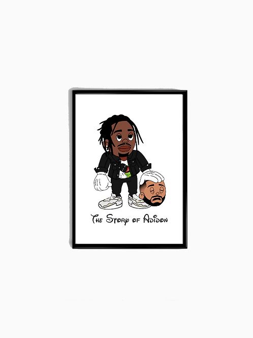 Cartoon The Story Of Adidon Poster - Premium Quality