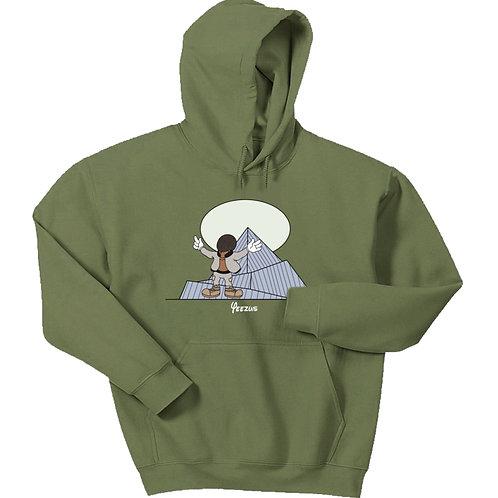 Cartoon Yeezus Hoodie - Premium Quality
