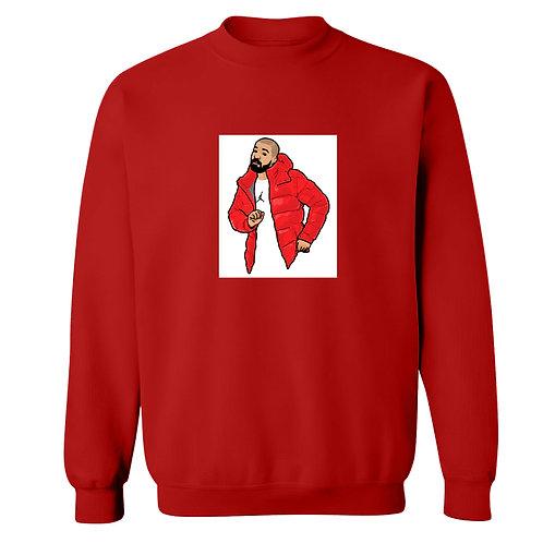 Hotline Bling Painting Sweatshirt - Premium Quality