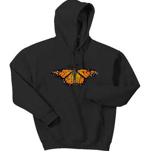 Butterfly Effect Pullover Hoodie - Premium Quality