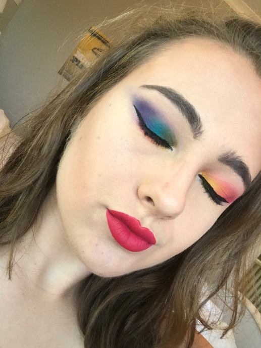 Pride Rainbow eyeshadow