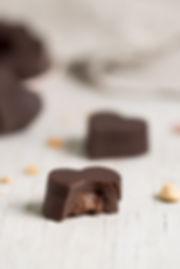 Chocolate Heart TrufflesVertical - Nouri