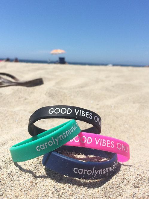 """GOOD VIBES ONLY"" Bracelet"