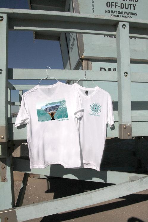 SPREAD GOOD VIBES V-Neck Shirt