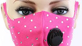 Pink Big Bling Mask