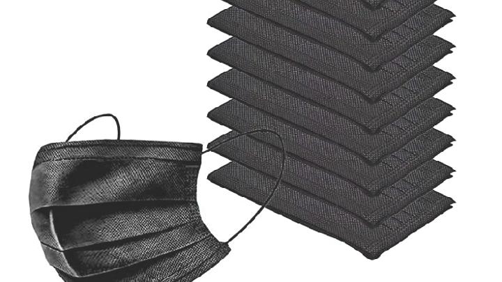Black Disposable Mask 10 Pack