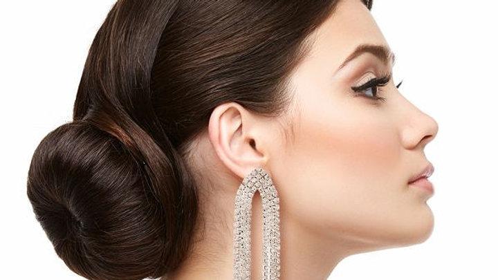 Bling Fringe earrings