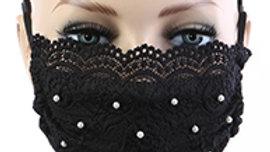 Black Pearl Mask