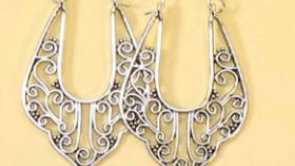 Horseshoe hoops