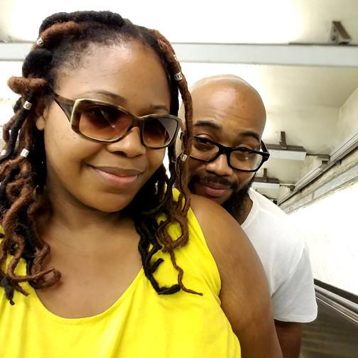 #RodandShy escalator downtown BK