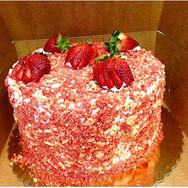 Another satisfied customer!!! We are home of the strawberry shortcake cheesecake!!! Place your order now!!! #SweetEscapePhilly #strawberrysh
