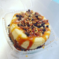 Turtle Cheesecake (caramel, pecans, and chocolate)! #dessertplug😋 #treatyoself #cheesecake #bestbakeryinphilly #bestcupcakesinJenkintown #sw