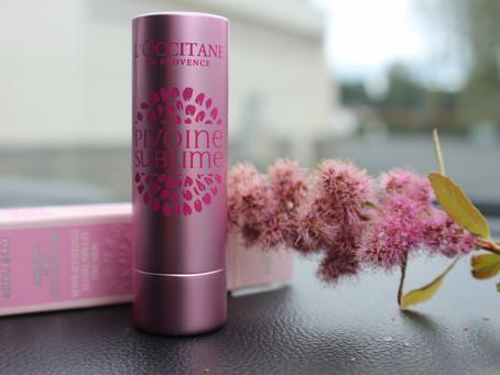 L'Occitane Pivoine Sublime Tinted Lip Balm Rose Nude или пионы в деле