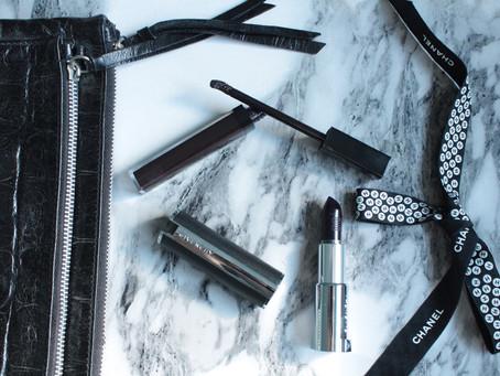 Осень оттенка Noire - Chanel & Givenchy