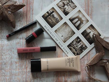 Bobbi Brown Nude Finish Tinted Moisturizer SPF 15 #Light to Medium Tint & Line, Color, Shine Lip