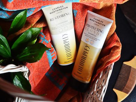 Charles Worthington Blonde: conditioner + shampoo