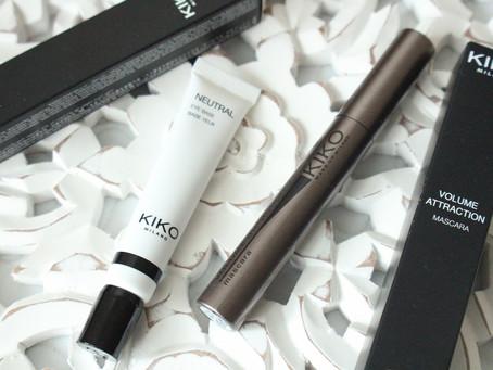 Знакомство с Kiko Make up Milano - база для теней и тушь.