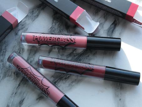 MAC Powerglass Plumping Lip Gloss - три прекрасных блеска